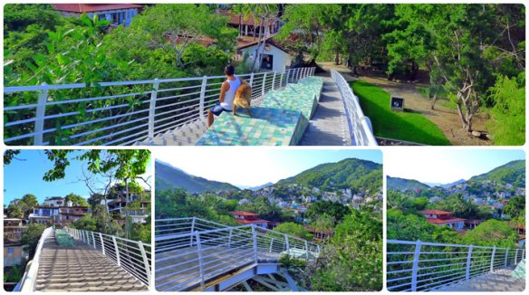 Isla Rio Cuale Pedestrian Bridge