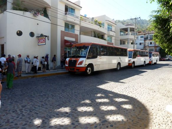 Bus in Puerto Vallarta to Boca