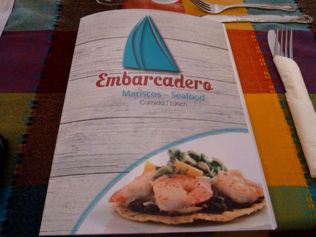 Embarcadero menu