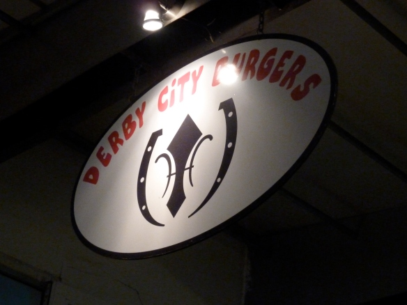 Derby Burger Sign