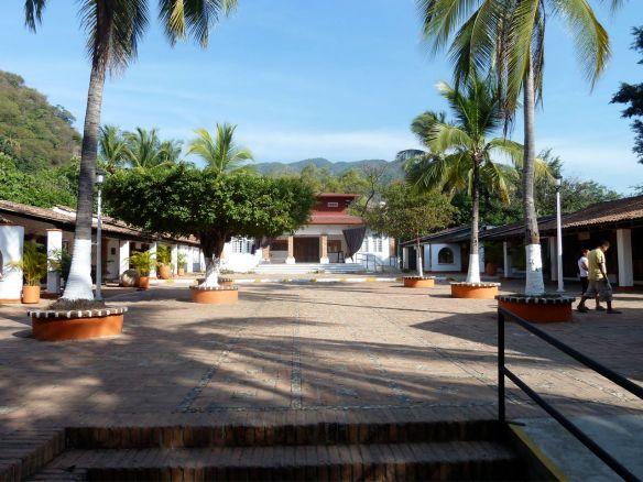 Cultural square on Isla Rio Cuale