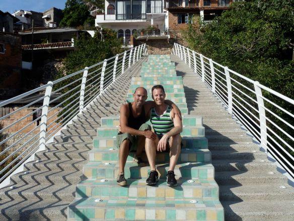 Us on the bridge