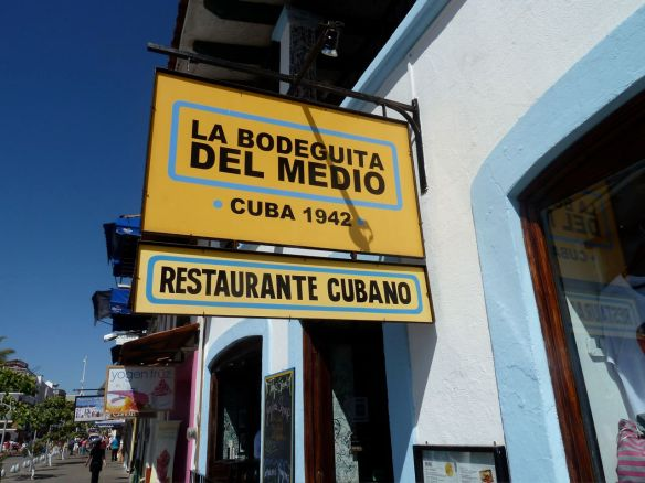 La Bodeguita Del Medio sign