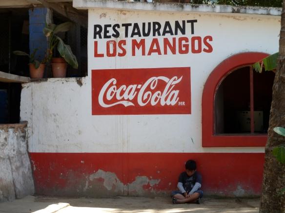 Bright color signs in Boca de Tomatlan