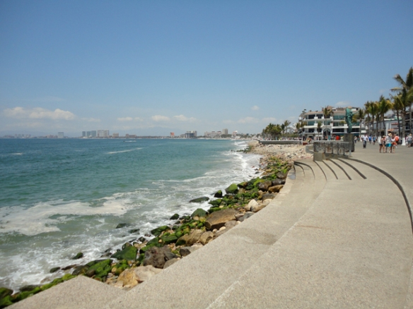 Enjoy a walk along the malecon, day or night.