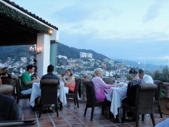 Roof-top fine dining restaurant