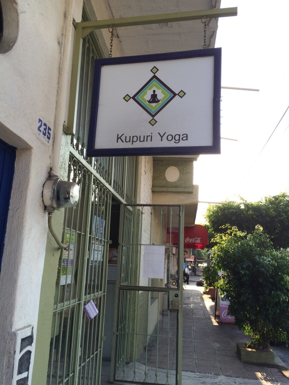 Sign for Kupuri Yoga.